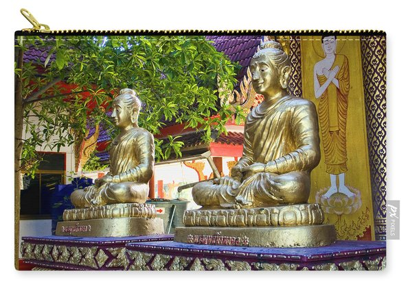 Seated Buddhas Carry-all Pouch