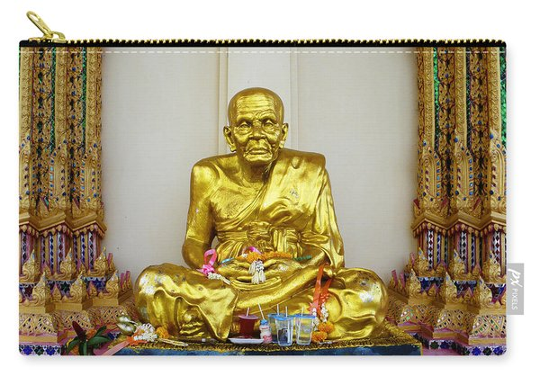 Seated Holy Man At Koh Samui Carry-all Pouch