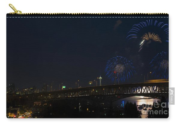 Seattle Fireworks Carry-all Pouch