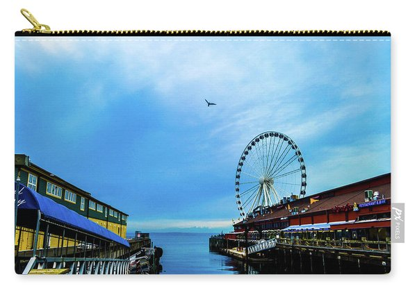 Seattle Pier 57 Carry-all Pouch