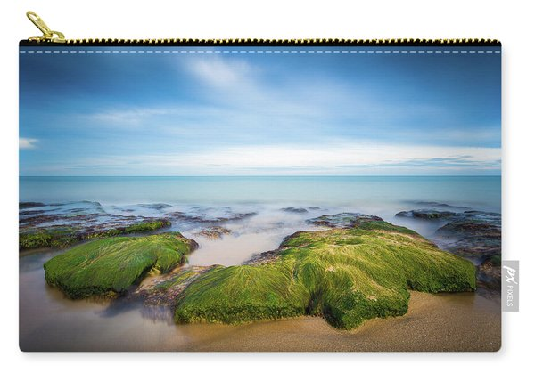 Seaweed Covered. Carry-all Pouch