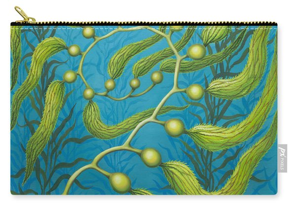 Seaweed Spiral Carry-all Pouch
