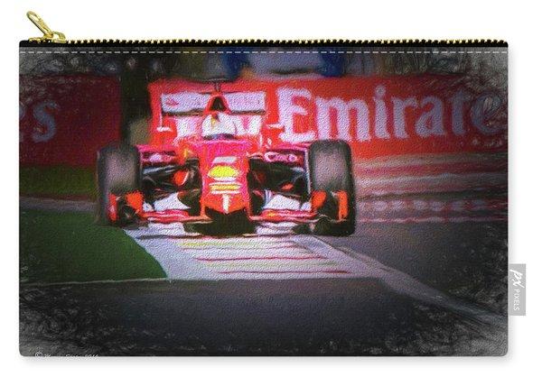 Sebastian Vettel's Ferrari Carry-all Pouch
