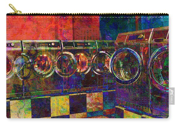 Secret Life Of Laundromats Carry-all Pouch