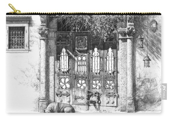 Secret Of The Closed Doors 4 Carry-all Pouch