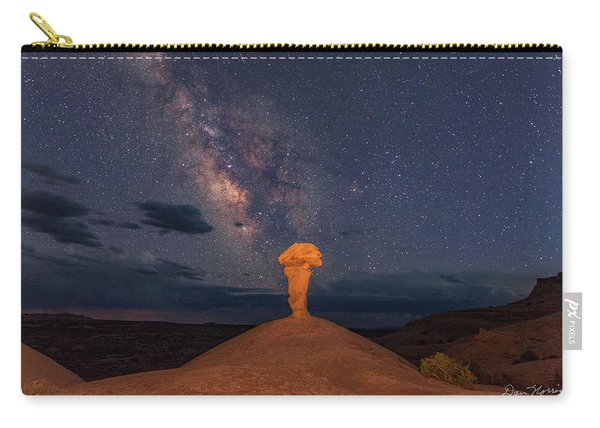 Secret Spire And The Milky Way Horizontal Carry-all Pouch