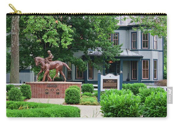 Secretariat Statue At The Kentucky Horse Park Carry-all Pouch