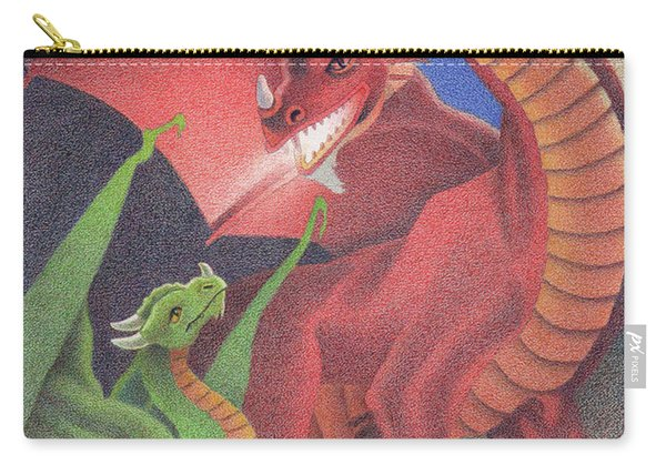 Secrets Of The Flame Carry-all Pouch
