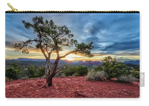 Sedona In The Morning Carry-all Pouch