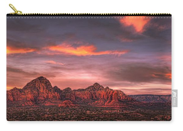 Sedona Sunset Panorama Carry-all Pouch