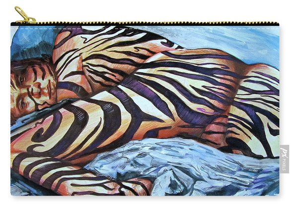 Seduction Of Stripes Carry-all Pouch