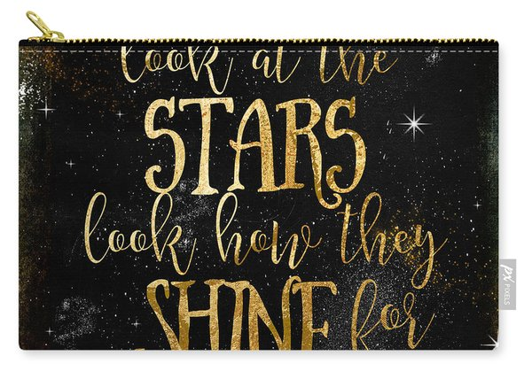 See How The Stars Shine Carry-all Pouch