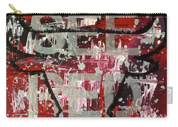 See Red Chicago Bulls Carry-all Pouch