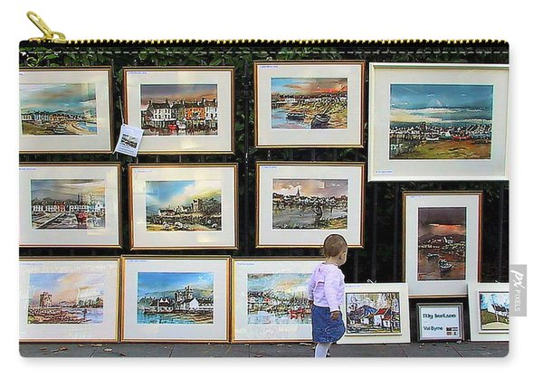 1500 Images Of Ireland........... Buy One A Year And  You Will Have A Starter Collection In 5 Years. Carry-all Pouch