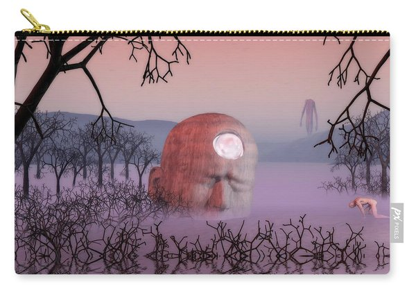Seeking The Dying Light Of Wisdom Carry-all Pouch
