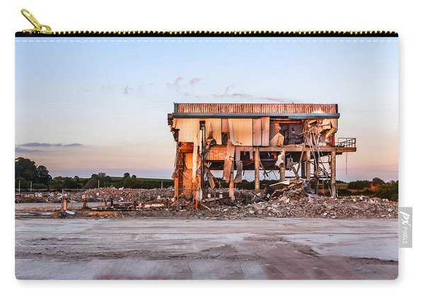 Carry-all Pouch featuring the photograph Seen Better Days by Nick Bywater