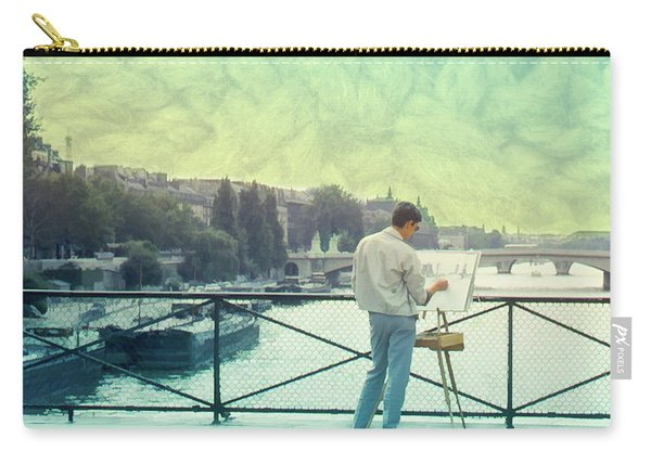 Seine River Inspiration Carry-all Pouch