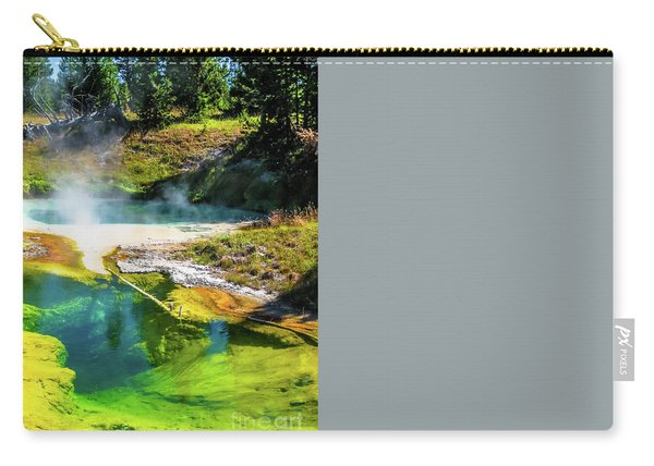 Seismograph Pool In Yellowstone Carry-all Pouch