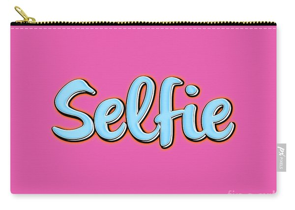 Selfie Tee Carry-all Pouch