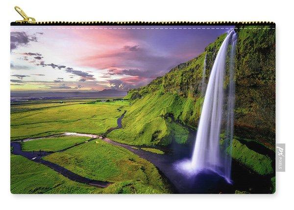 Seljalandsfoss Waterfall Carry-all Pouch