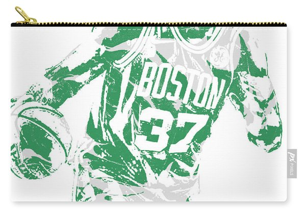 Semi Ojeleye Boston Celtics Pixel Art 2 Carry-all Pouch