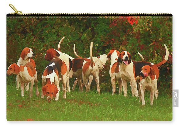 Send In The Hounds  Carry-all Pouch