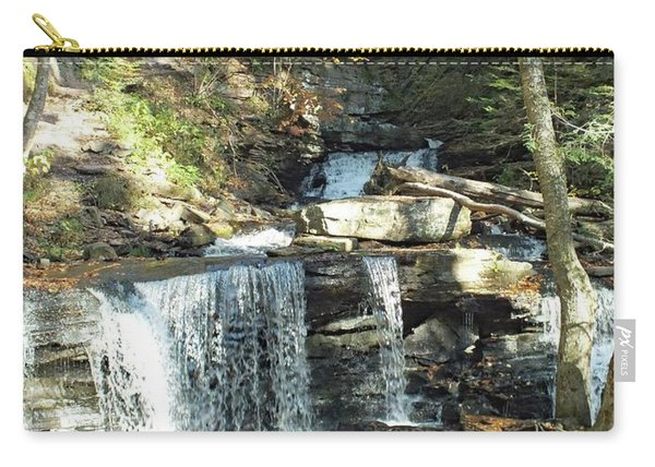 Delaware And Seneca Falls 3 - Ricketts Glen Carry-all Pouch