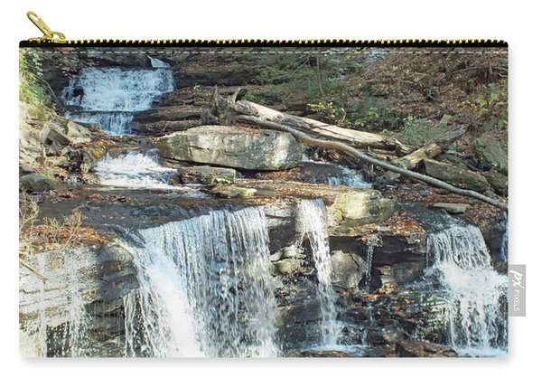 Delaware And Seneca Falls - Ricketts Glen Carry-all Pouch