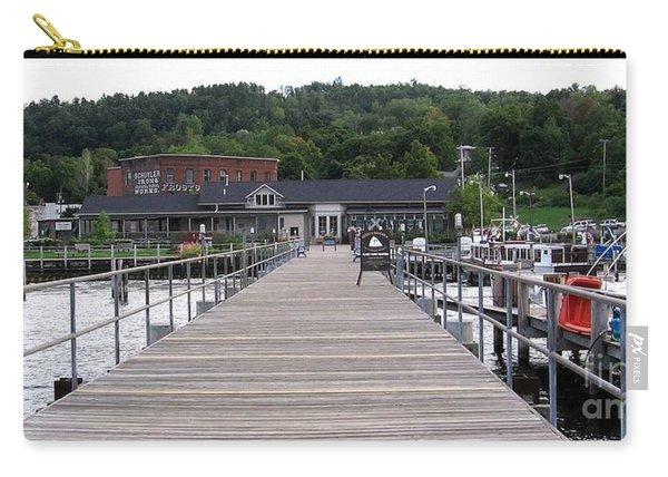 Seneca Lake Pier Watkins Glen New York Carry-all Pouch