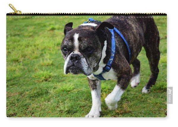 Leroy The Senior Bulldog Carry-all Pouch