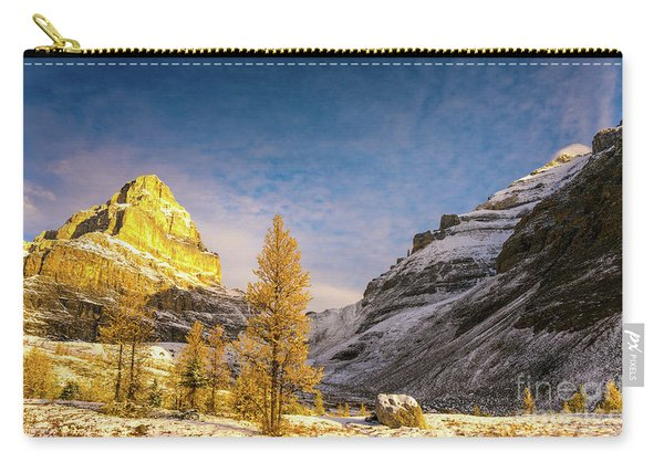 Sentinel Pass Golden Larches Canadian Rockies Carry-all Pouch
