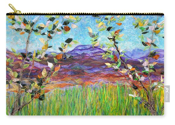 Sentries Diptych Carry-all Pouch