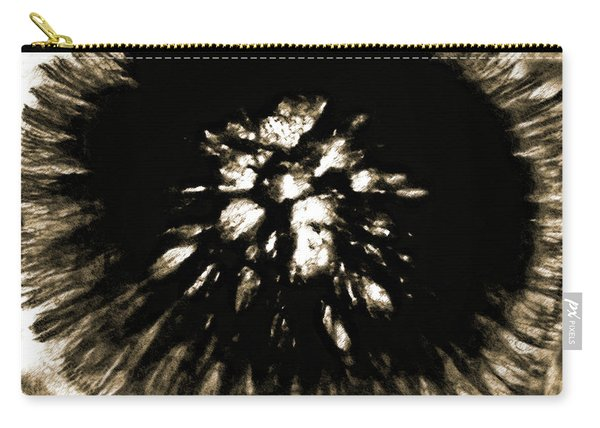 Sepia Dandelion Carry-all Pouch