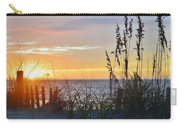 September 27th Obx Sunrise Carry-all Pouch