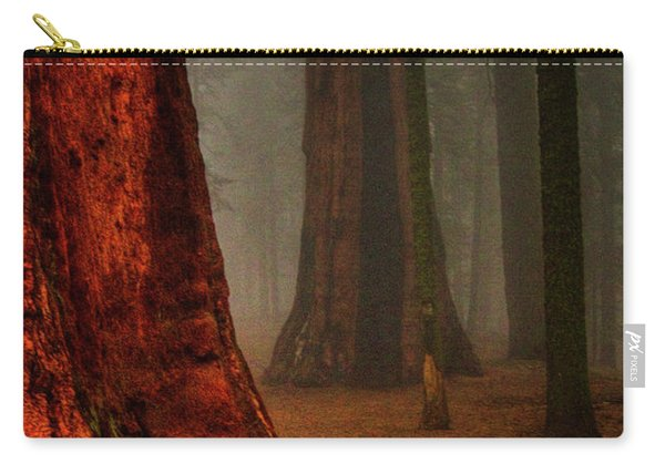 Sequoias In The Clouds Carry-all Pouch