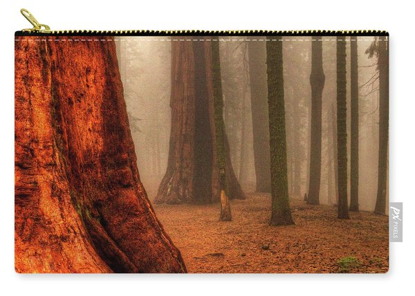 Sequoias Touching The Clouds Carry-all Pouch