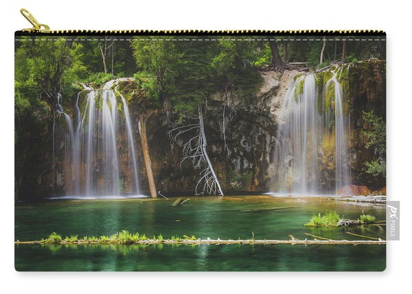 Serene Hanging Lake Waterfalls Carry-all Pouch