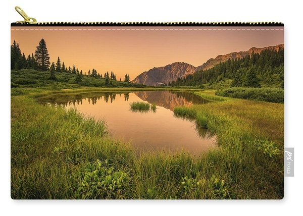 Serene Lake Carry-all Pouch