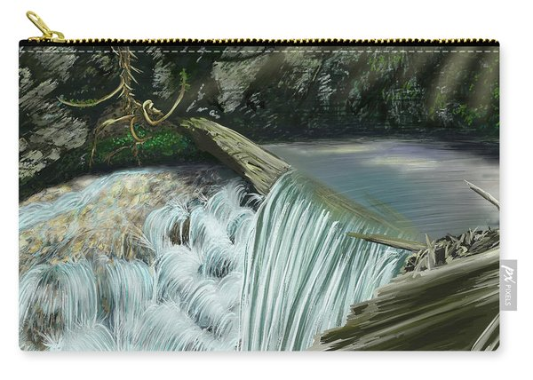 Serene Oasis Of Stagger Inn Carry-all Pouch