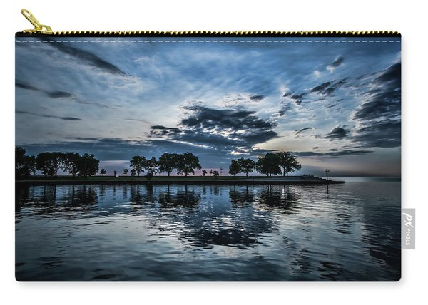 Serene Summer Water And Clouds Carry-all Pouch