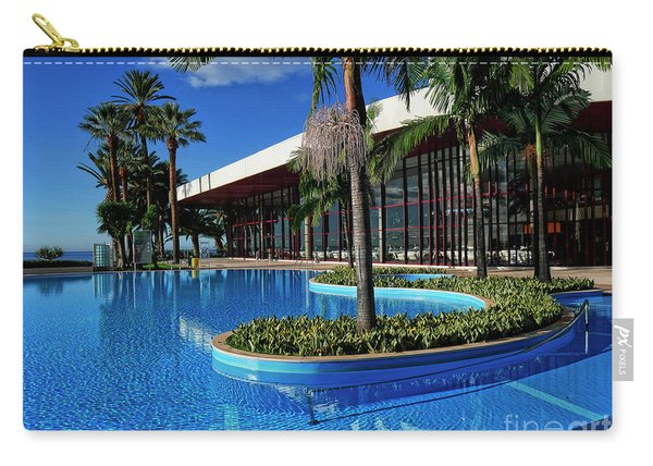 Serene Swimming Pool Carry-all Pouch