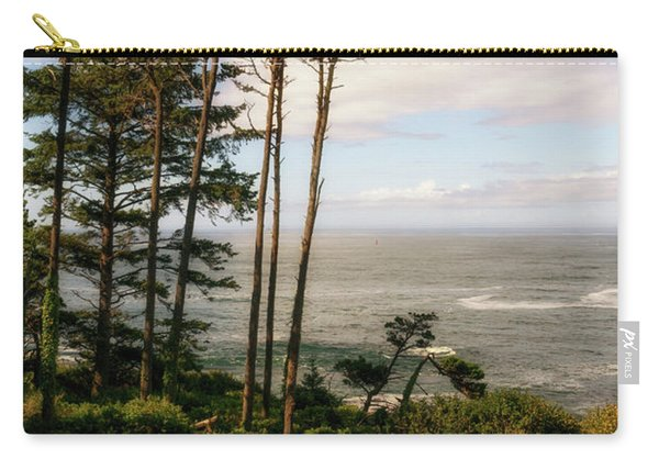 Carry-all Pouch featuring the photograph Serenity At Depoe by Michael Hope