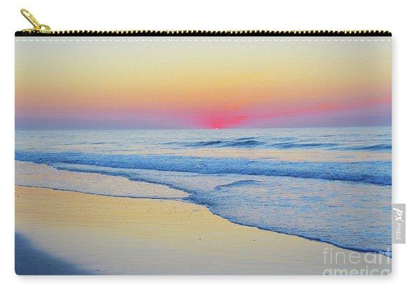 Serenity Beach Sunrise Carry-all Pouch