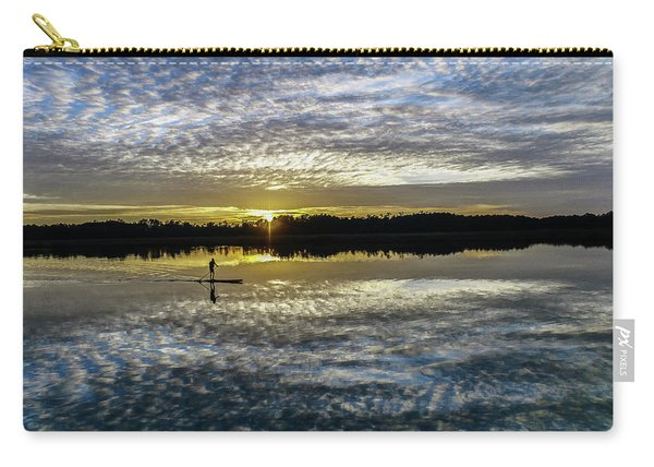 Serenity On A Paddleboard Carry-all Pouch