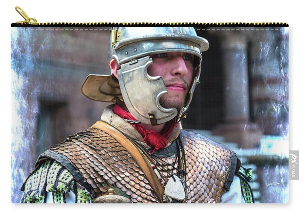 Serving The Emperor In Rome Carry-all Pouch