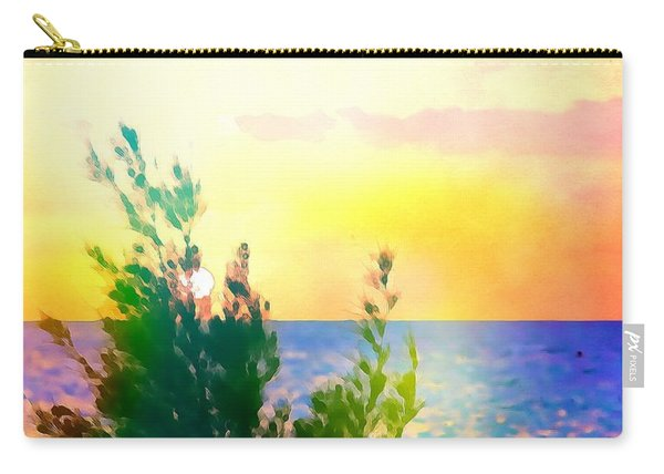 Pastel Colors On The Atlantic Ocean In Cancun Carry-all Pouch