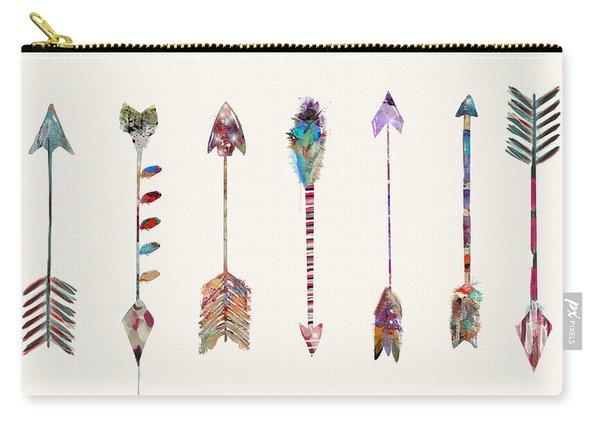 Seven Little Arrows Carry-all Pouch