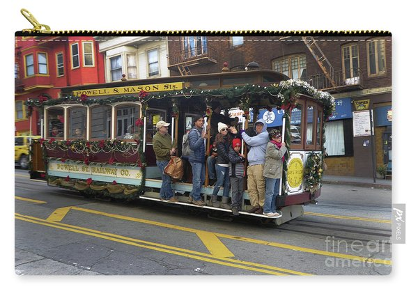 Sf Cable Car Powell And Mason Sts Carry-all Pouch