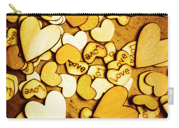 Shabby Love Artwork Carry-all Pouch