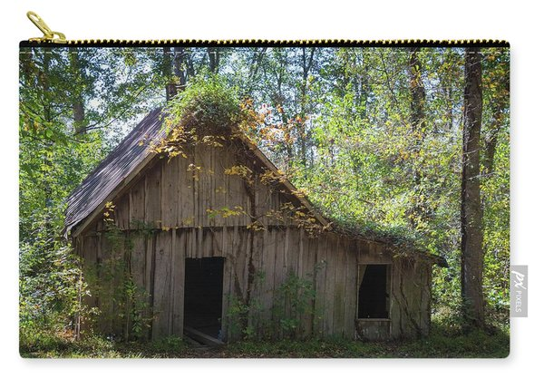 Shack In The Woods Carry-all Pouch